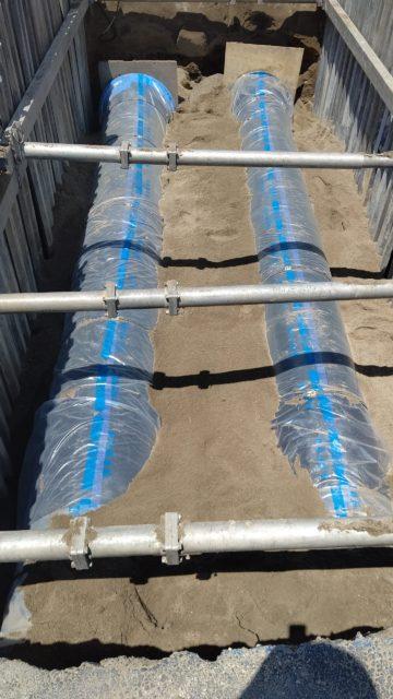 中町送配水管布設工事
